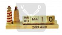 Kalender hout Zeeland