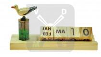 Kalender hout Zee