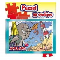 Puzzel 99 St.Zakje Ameland