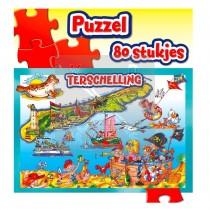 Puzzel 80 St.Zakje Terschell.