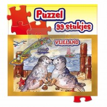 Puzzel 99 St.Zakje Vlieland