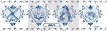 Blik Stroopwafels Delft