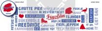Snoepblik Friesland pepermunt