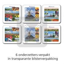 Set 6 onderzetters Holland