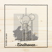 Onderzetter hout laser Eindhoven