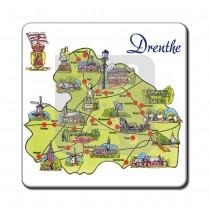 Set 6 onderzetters Drenthe