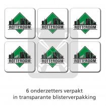 Set 6 Onderzetters Rotterdam