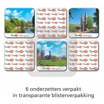 Set 6 onderzetters Roermond