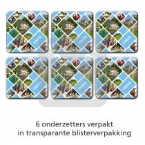 Set 6 onderzetters Limburg