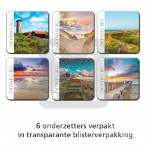 Set 6 onderzetters Domburg
