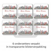 Set 6 onderzetters Den Haag