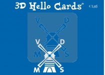 Backcard 3d Hello Cards