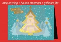 Kerstkaart env + Kerstboom LN  FR