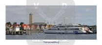 Panoramakaart Terschelling