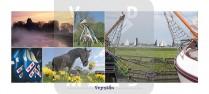 Panoramakaart Fryslan