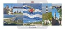 Panoramakaart Zeeland