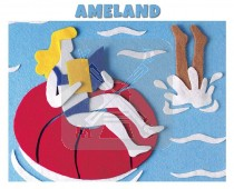 Hello Cards Vilt Ameland