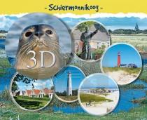 3d Hello Cards Schiermonnikoog
