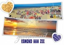 Reliefkaart Egmond aan Zee