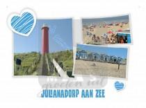 Reliefkaart Julianadorp aan Zee