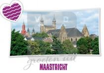 Reliefkaart Maastricht