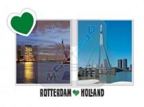 Reliefkaart Rotterdam
