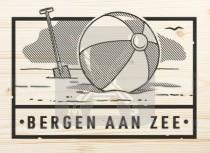 Ansichtkaart hout Zee     CM