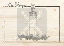 Ansichtkaart hout Ouddorp