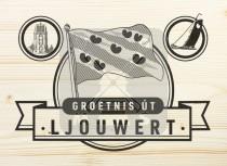 Ansichtkaart hout Leeuwarden