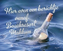 Hc Makkum Berichtje Uit Fles