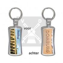 3D Sleutelhanger Domburg