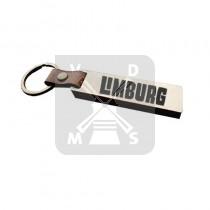 Sleutelh. hout leren band Limburg