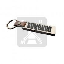 Sleutelh. hout leren band Domburg