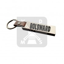 Sleutelh. hout leren band Bolsward