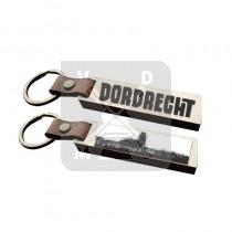 Sleutelh. hout leren band Dordrecht