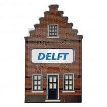 Sleutelhanger huisje doming Delft