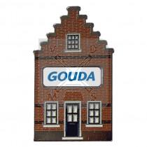 Sleutelhanger huisje doming Gouda