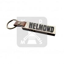 Sleutelh. hout leren band Helmond