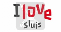 Mok 6oz I Love Sluis