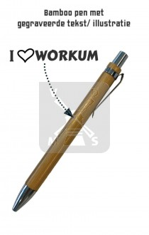 Pen Bamboo Workum