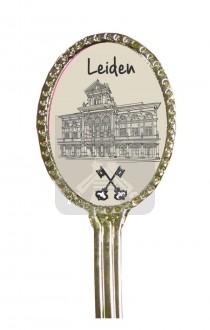 Lepeltje ovaal Leiden