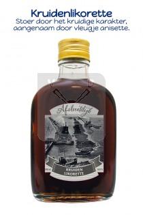 Drankflesje kruidenlikorette Afsluitdijk