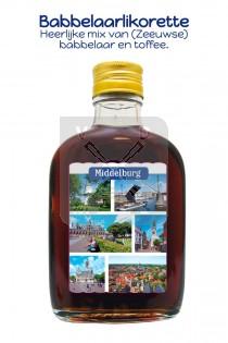Drankflesje Middelburg babbelaarlikorette