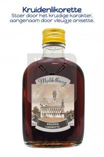 Drankflesje Middelburg kruidenlikorette