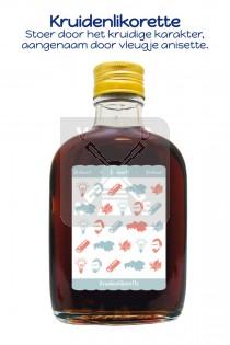 Drankflesje Brabant kruidenlikorette