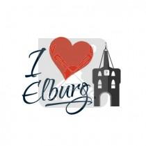 Mok 10oz I love Elburg