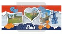 Mok 6oz I Love Sluis