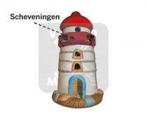 Vuurtoren keramiek Scheveningen (3341681&)