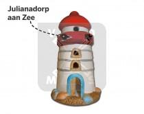 Vuurtoren keramiek Julianadorp aan Zee (3341681&)
