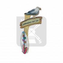 Magneet paal/surfboard Julianadorp a. Zee
